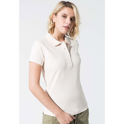 Kariban Ladies´ Organic Pique Short-Sleeved Polo-Shirt