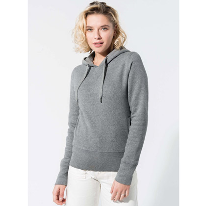 Kariban Ladies´ Organic Hooded Sweatshirt