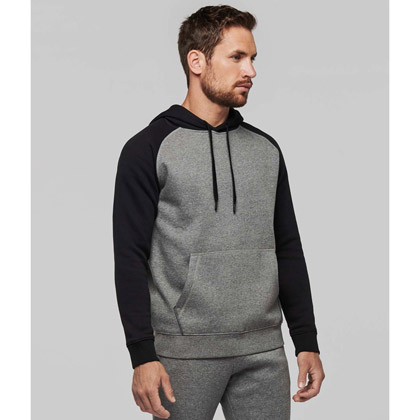 Kariban Two-Tone Hooded Sweat