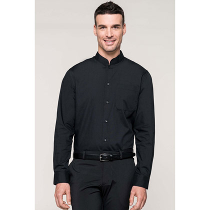 Kariban Men´s Mandarin Collar Shirt