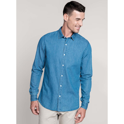 Kariban Men´s Chambray Shirt