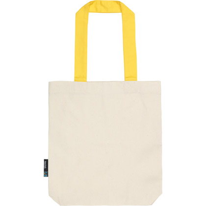 Borsa Shopper Neutral Twill Contrast