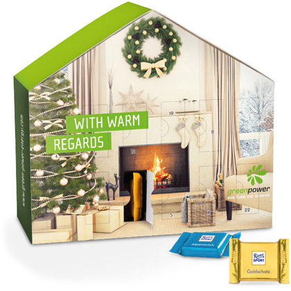 Adventskalender House Ritter Sport