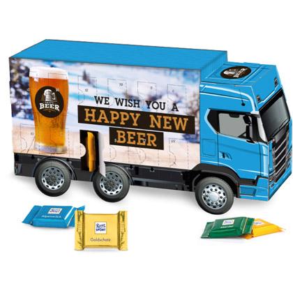Adventskalender Truck Ritter Sport