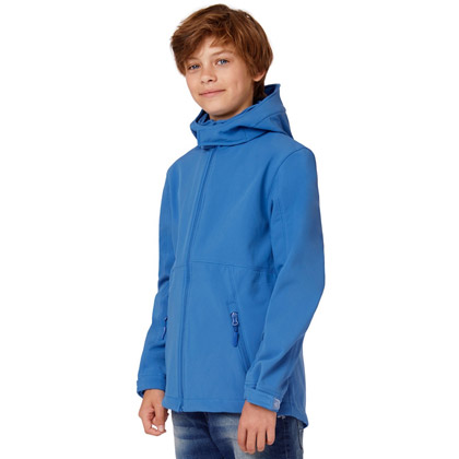 B&C Hooded Softshell Jacket Kids