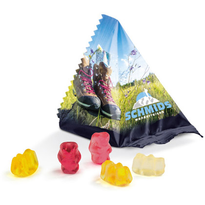 Trolli Jelly Bears Pyramid, 10 g