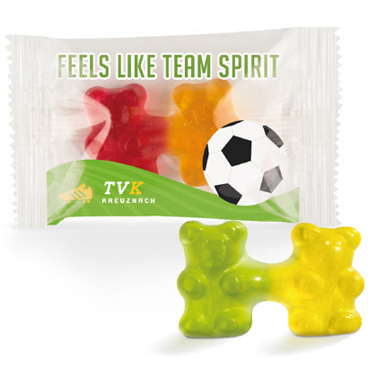 Orsetti gommosi Trolli Team Jelly Bears, 6,5 g