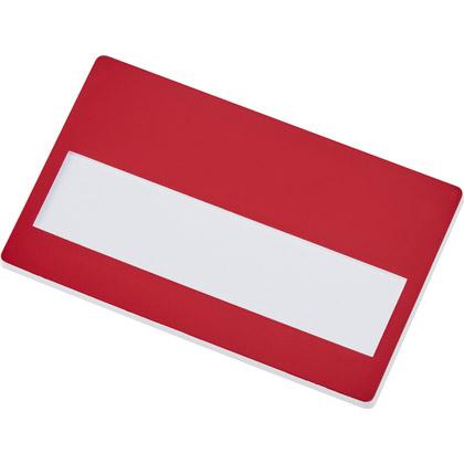 red/ white