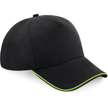 black/ lime green