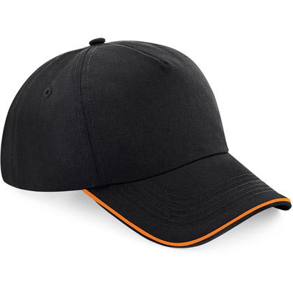 black/ orange