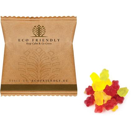 Vingummibamser Teddy Eco, 10 g