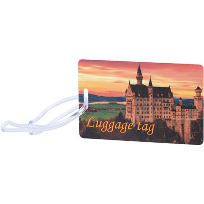 Matkalaukun nimikyltti Prague