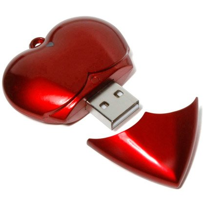 Chiavetta USB Cuore