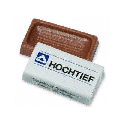 Schokoladenquadrat