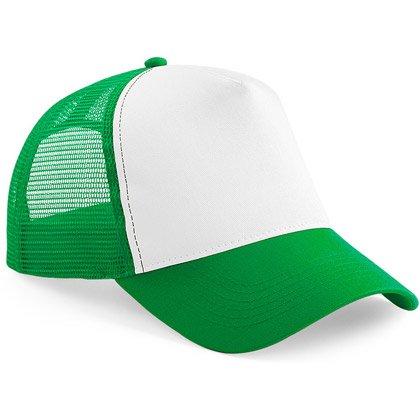pure green/ white