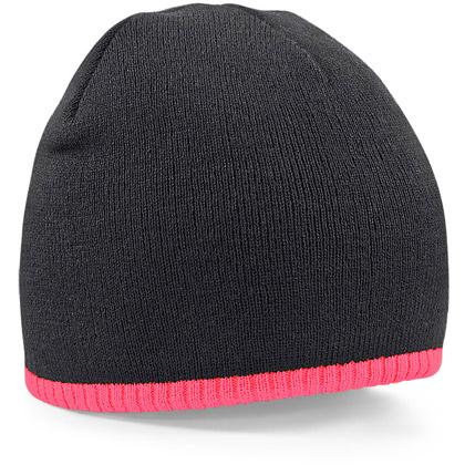 black/ fluorescent pink