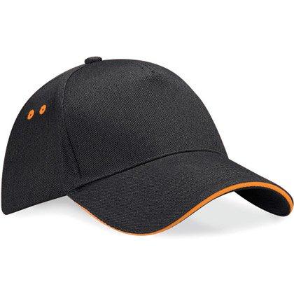 negro/ naranja