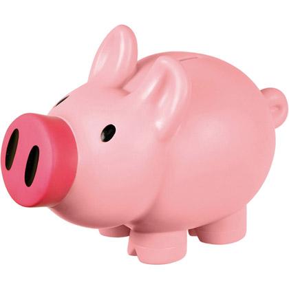 Säästöpossu Miss Pink