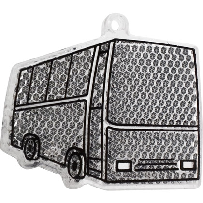 Reflexbricka Buss