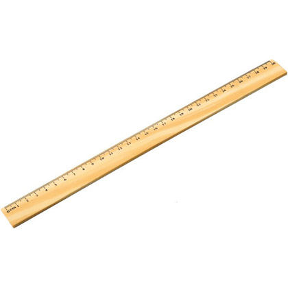 Viivain Woodman, 30 cm