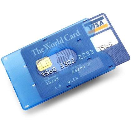 Käyntikorttikotelo Trans