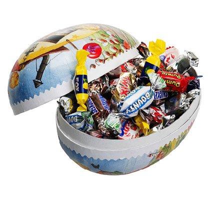 Osterei verpackte Süßigkeiten18 cm