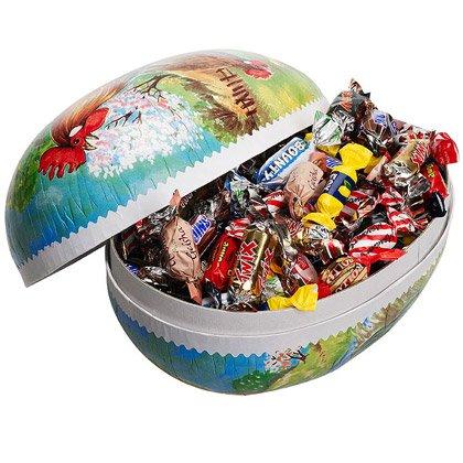 Osterei verpackte Süßigkeiten 25 cm