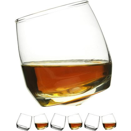 Sagaform Set di 6 bicchieri da whiskey