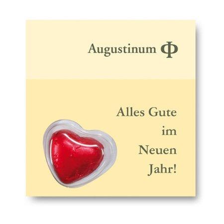 Schokolade Heart Card