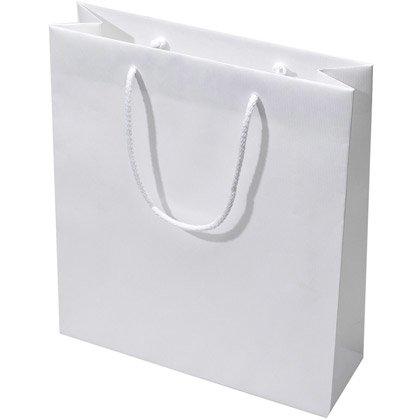 Papirspose Ribbed 40x36 cm