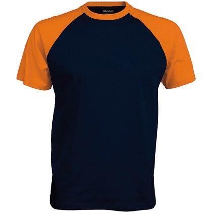 navy/ orange