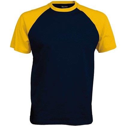 navy/ yellow