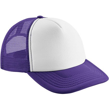 purple/ white