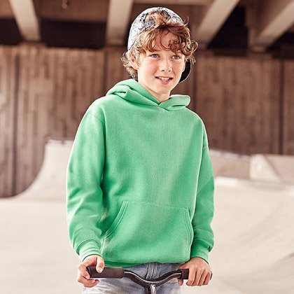 Russell Hooded Kids Sweat 575B