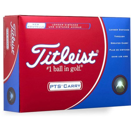 Pallina da Golf Titleist PTS Carry