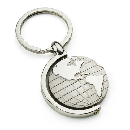 Nyckelring Globe