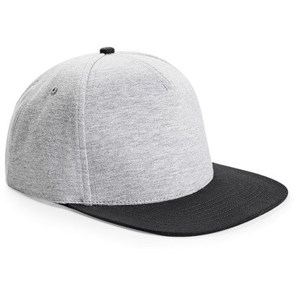 heather grey/ black