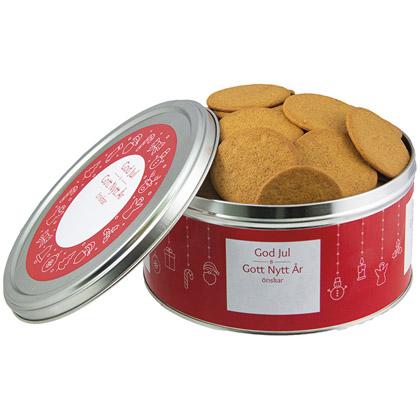 Biscuits au Pain d'Épice dans une Boîte en Fer Blanc, 500 g