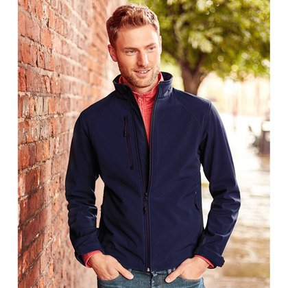 Russell Soft Shell Jacket Uomo