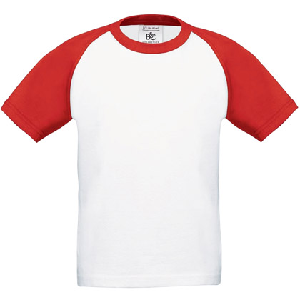 B&C Baseball, lasten t-paita
