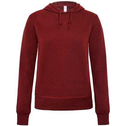 dark heather red