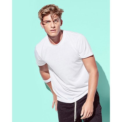 Stedman Träningstshirt Active Cotton Touch Herr