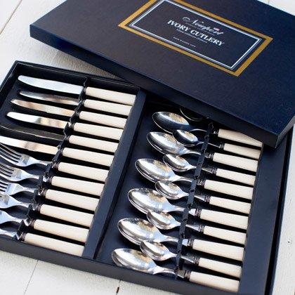 Newport Ivory Cutlery Set