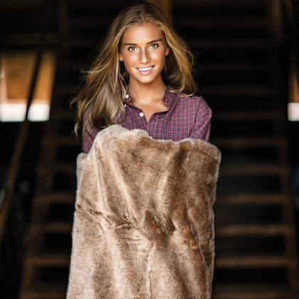 Newport Aspen Brownbear Throw