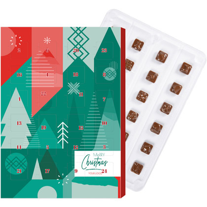 Calendario di Cioccolato Mini