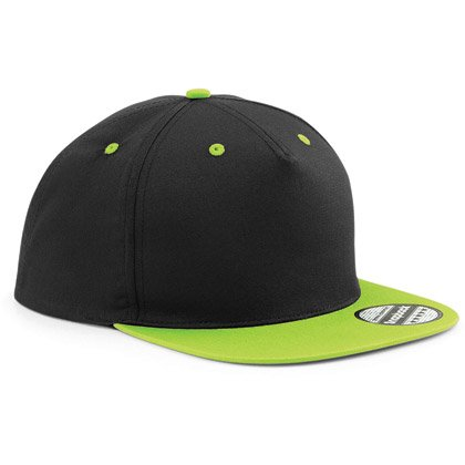 black/ lime green