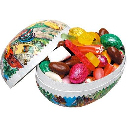 Uova di Pasqua con Cioccolatini e Caramelle 15 cm