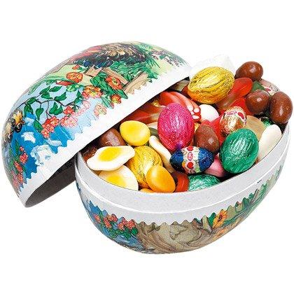 Uovo di Pasqua Caramelle con Cioccolatini e Caramelle 18 cm