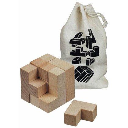 3D-puslespill Wood