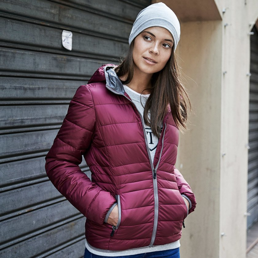 Tee Jays Ladies Hooded Zeleplin Jacket